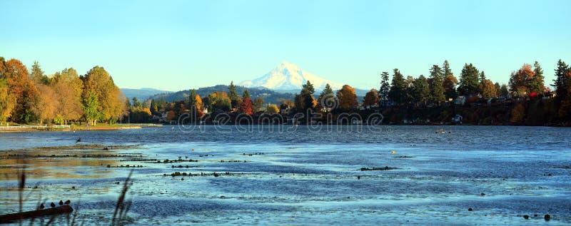 Download Blue Lake Park Panorama Fairview Oregon. Stock Photo - Image: 16807632