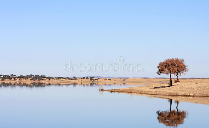 Download Blue Lake In Vale Do Guadiana, Alentejo, Portugal Stock Photo - Image: 22036198
