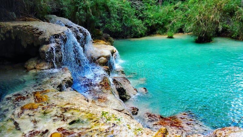 Blue Laos stock photo