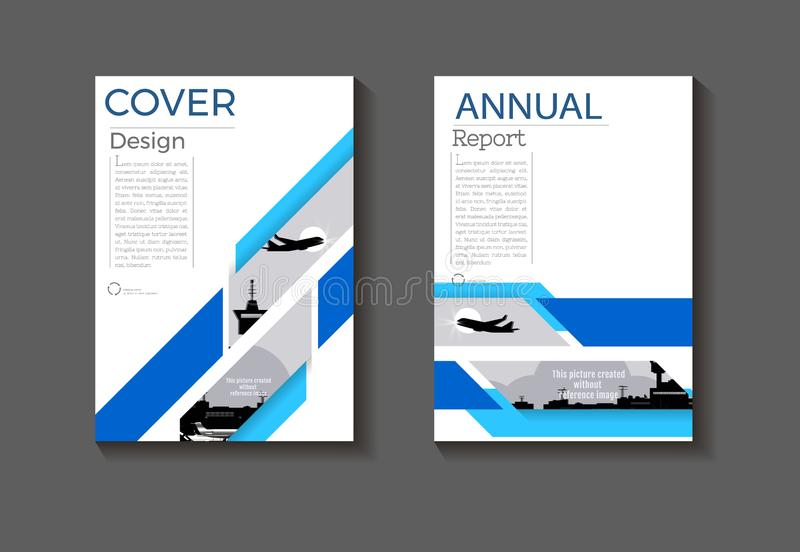 Blue layout cover green abstract background modern  design modern book cover Brochure template,annual report, magazine and flyer vector illustration