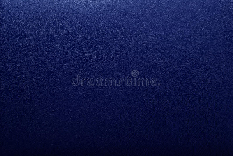 Blue leather texture stock photo