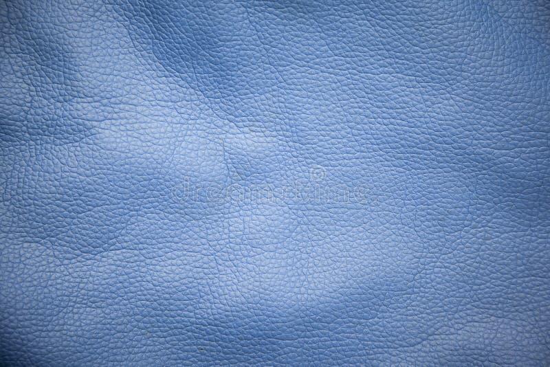 Blue bag background. Blue leather texture bag background stock photos