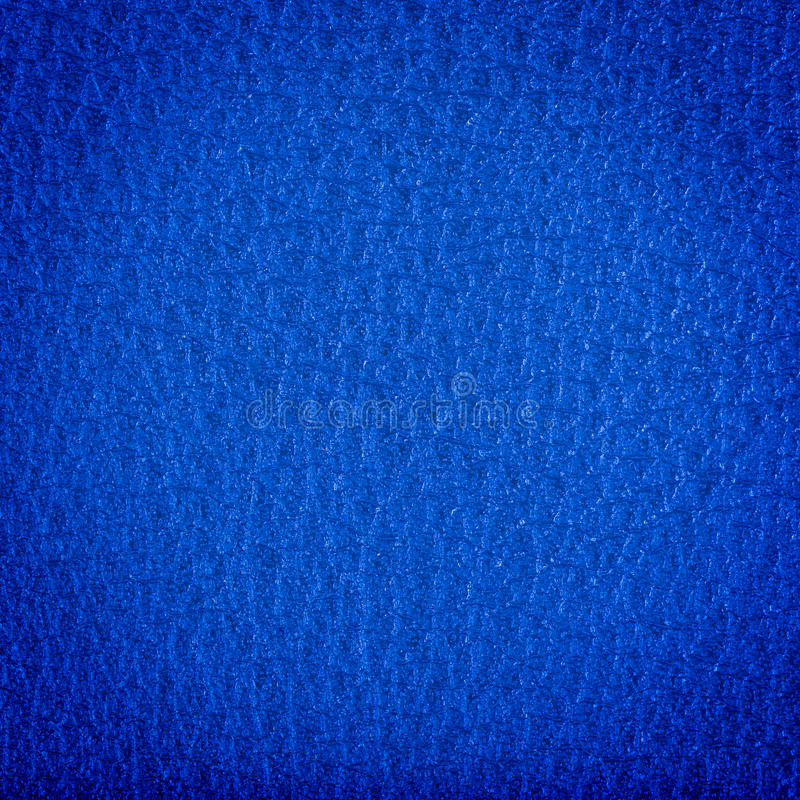 Blue leather texture. Can be used as a background stock image