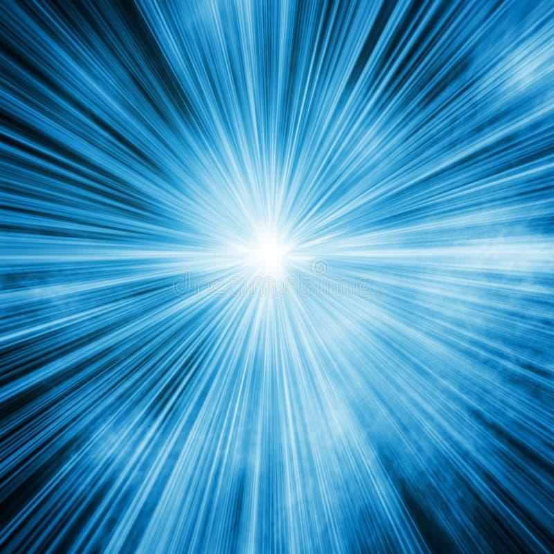 Download Blue ligh stock illustration. Image of black, flash, sun - 33325049