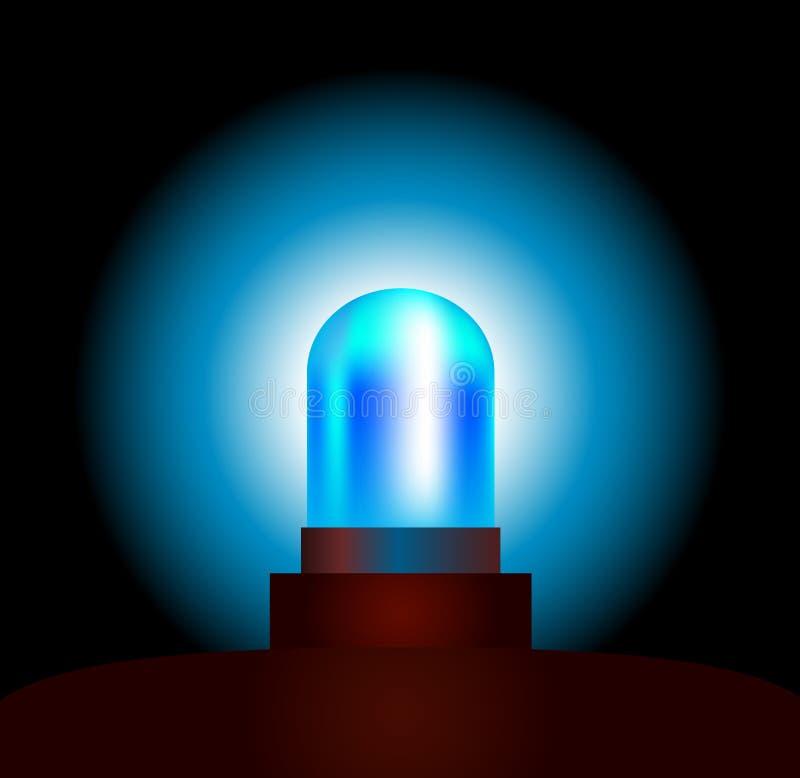Blue Light vector illustration