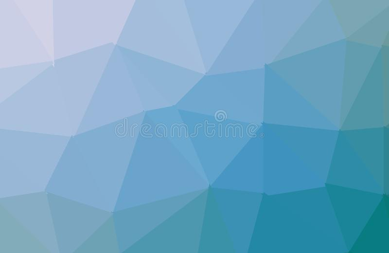 Blue Light Polygonal Mosaic Background, Vector illustration, Business Design Templates. Abstract background consisting of triangles vector illustration