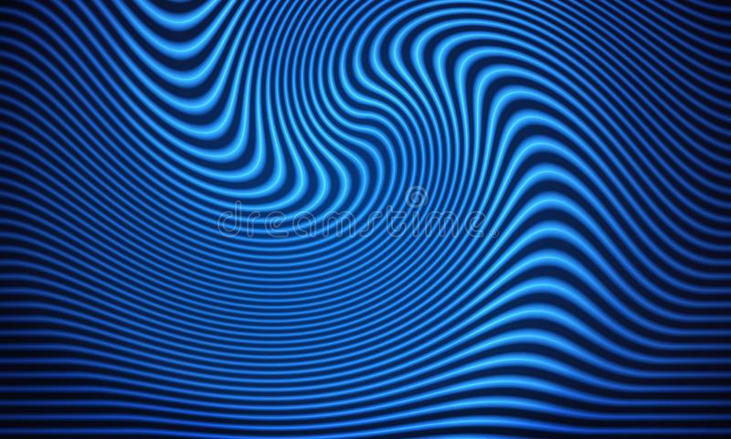 Blue light streak background stock photo