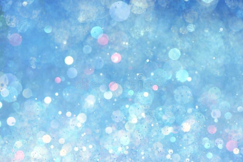 Blue lights background stock illustration