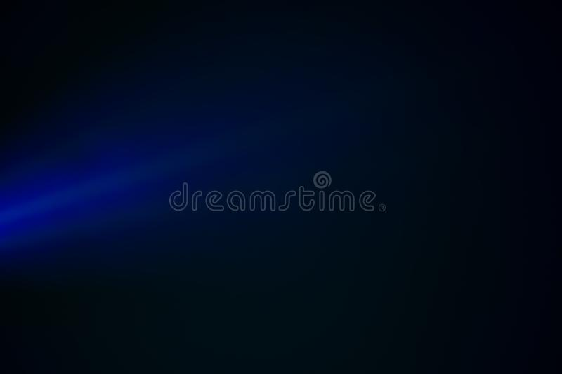 Blue lights through the mist in the night. Close view royalty free stock photos