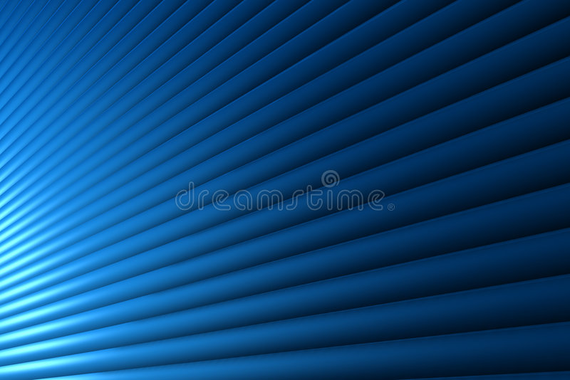 Blue line stock illustration