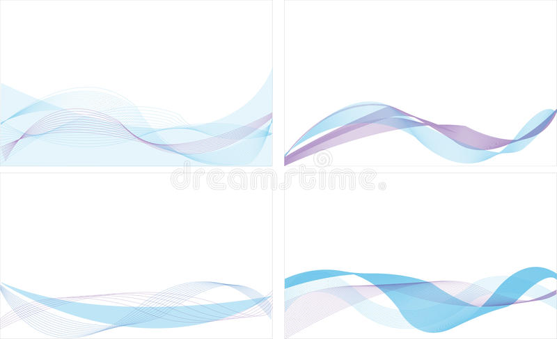 Download Blue Line Abstract Background Stock Vector