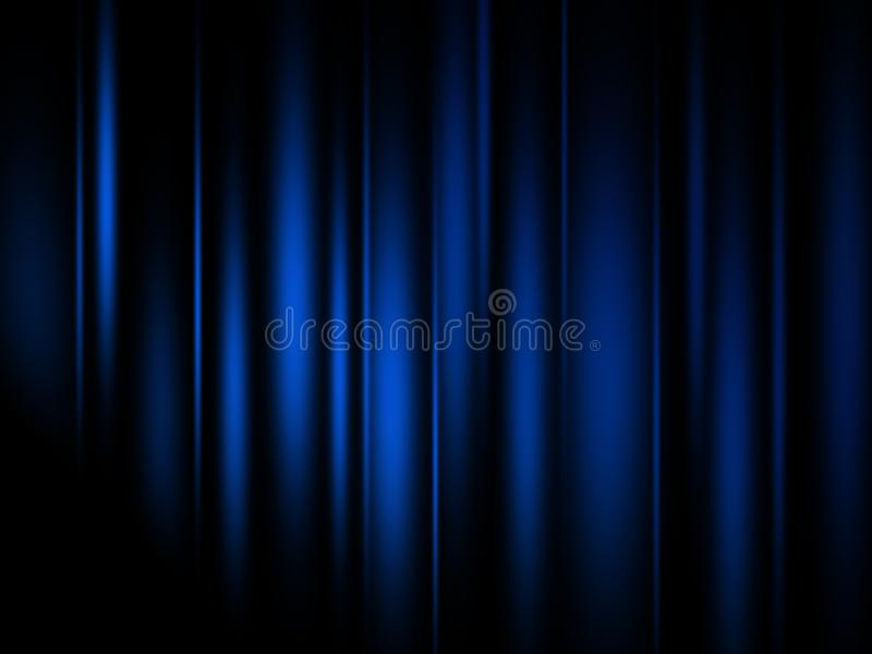 Blue line abstract backgrounds royalty free illustration