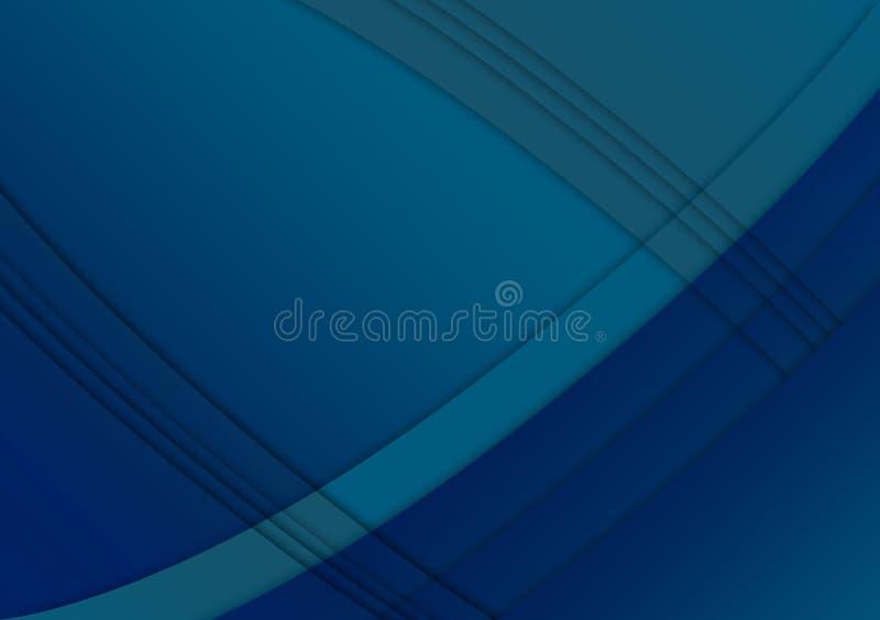 Blue linear textured wallpaper background design stock illustration