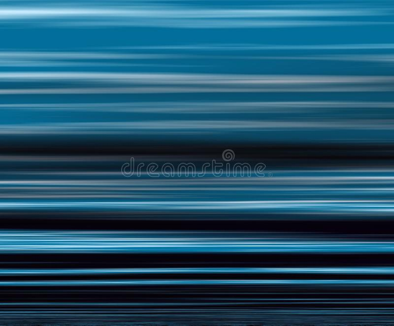 Blue Lines. Abstract blue lines in different shades vector illustration