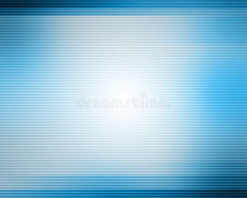 Blue lines background stock illustration