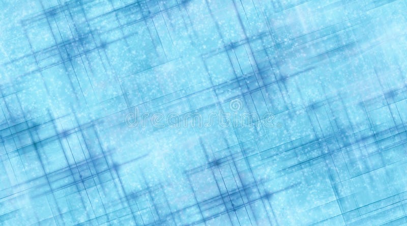 Blue Lines and Snow stock illustration