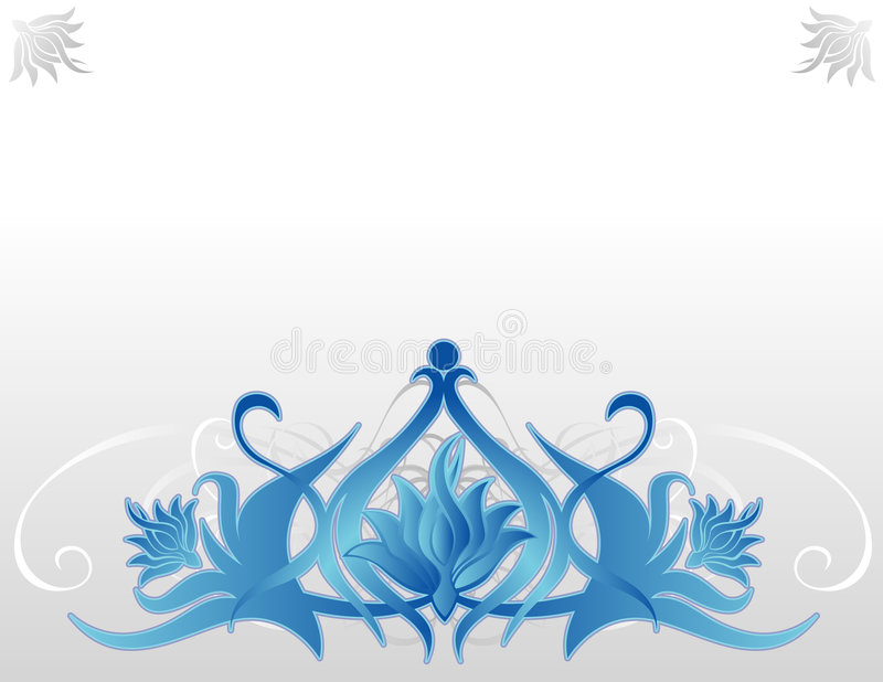 Download Blue Lotus Royalty Free Stock Photography - Image: 8484077