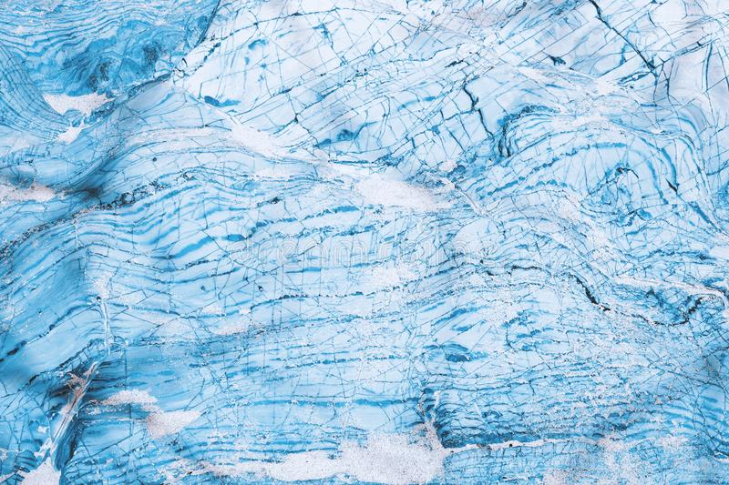 Marble blue texture stock illustration