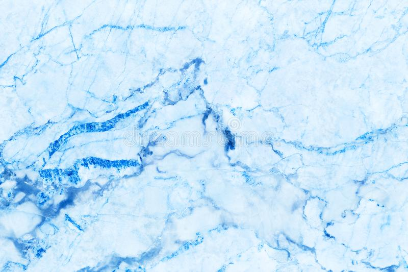 Blue marble texture background with high resolution, top view of natural tiles stone in luxury and seamless glitter pattern stock image