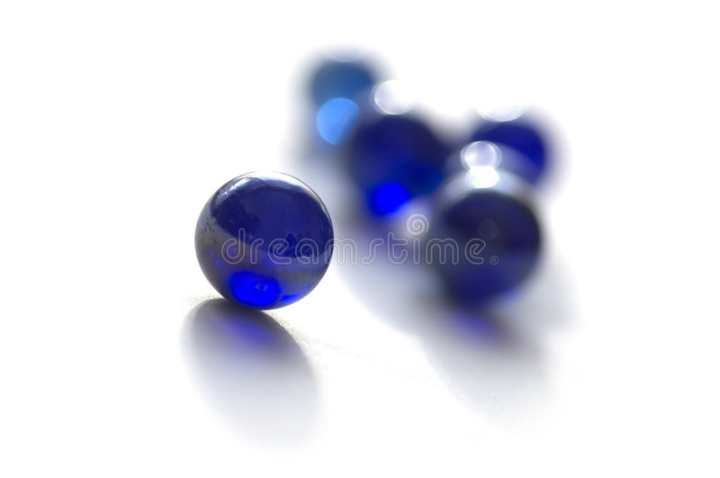 Download Blue Marbles stock image. Image of marble, still, glass - 915029