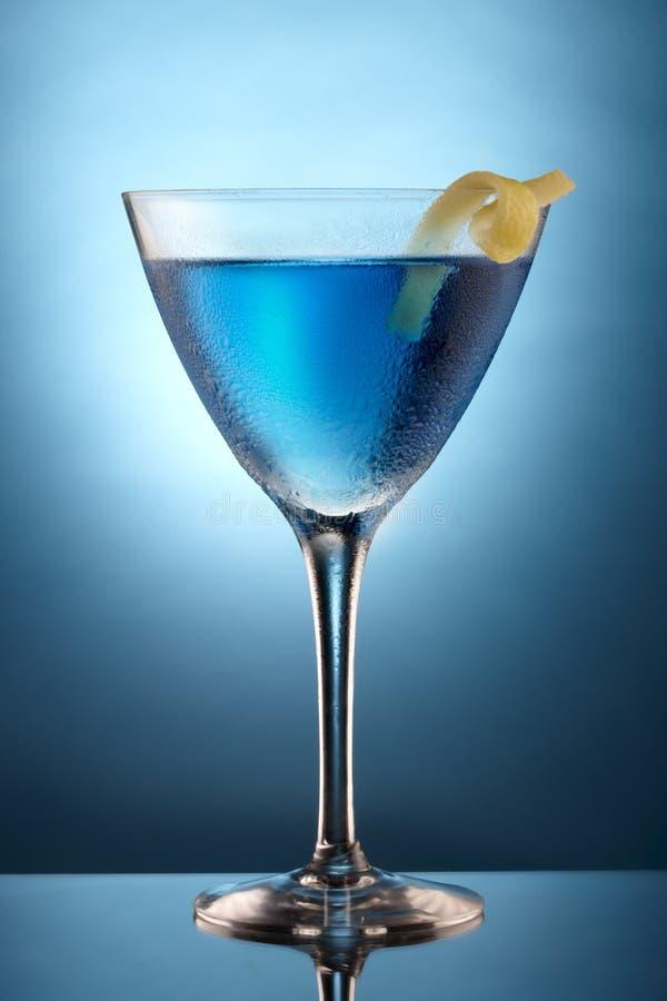 Blue Martini Royalty Free Stock Image