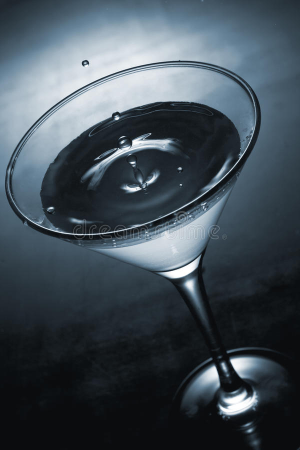 Free Blue Martini Royalty Free Stock Photography - 22291247