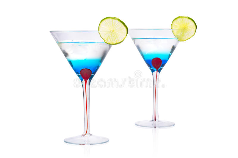 Download Blue Martini Curacao Drink. Stock Image - Image: 38725439