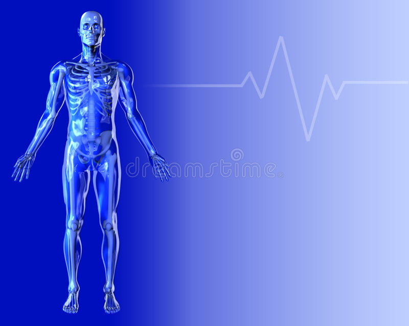Blue Medical Background 2 royalty free stock images