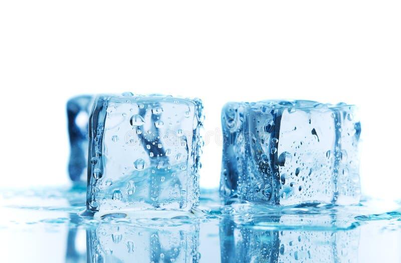 Blue melt royalty free stock images