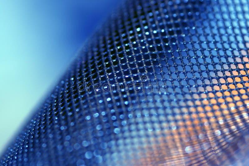 Blue mesh stock photos
