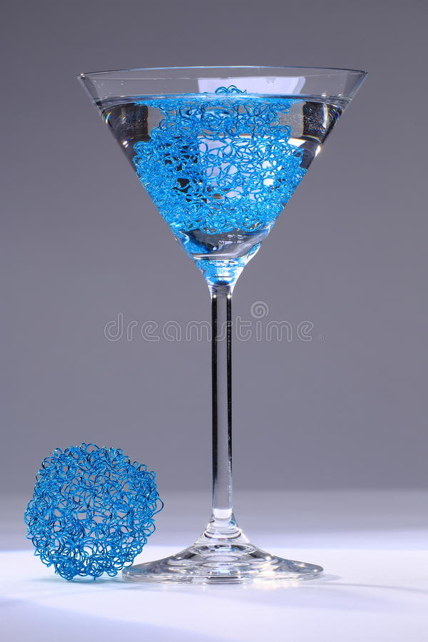 Blue Mesh Cocktail