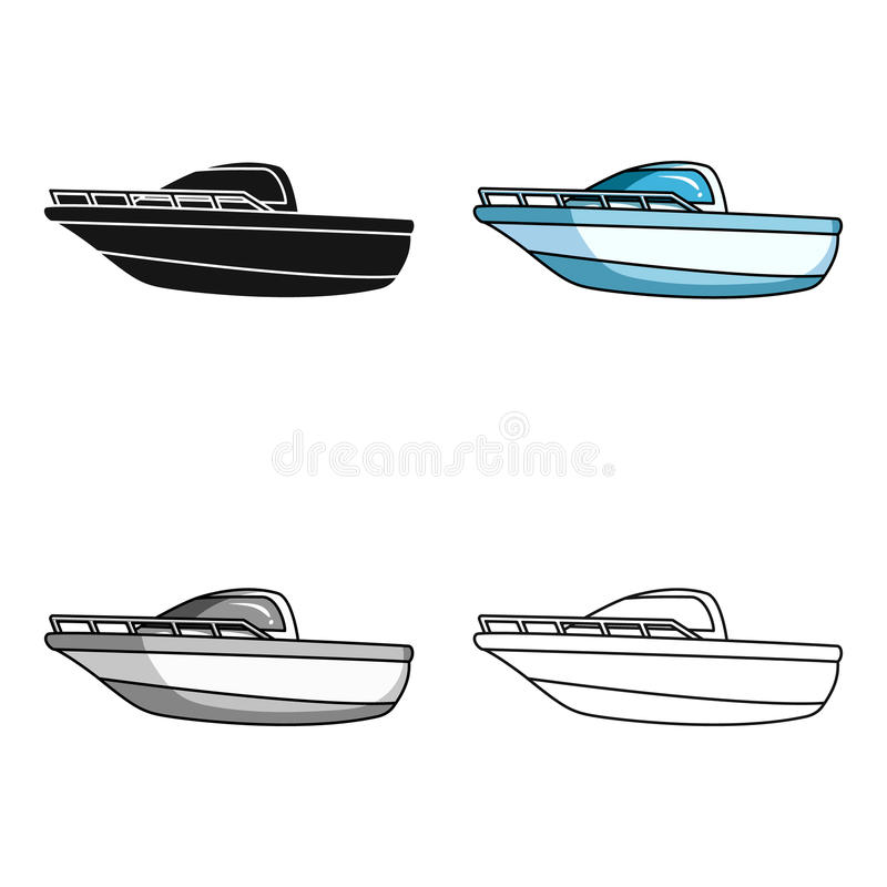 Blue Metal Boat Police Boat A Means Of Transportation On