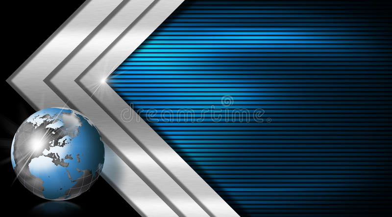 Blue and metal business card stock illustration illustration of download blue and metal business card stock illustration illustration of energy illustration 37799501 reheart Images