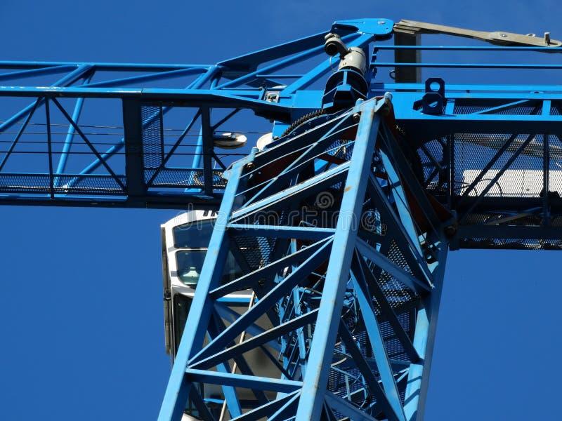 Blue Metal Crane Free Public Domain Cc0 Image
