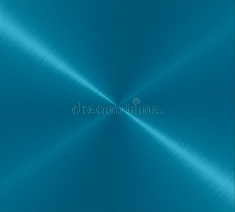 Blue Metallic Stainless Steel Metal Texture Background royalty free illustration