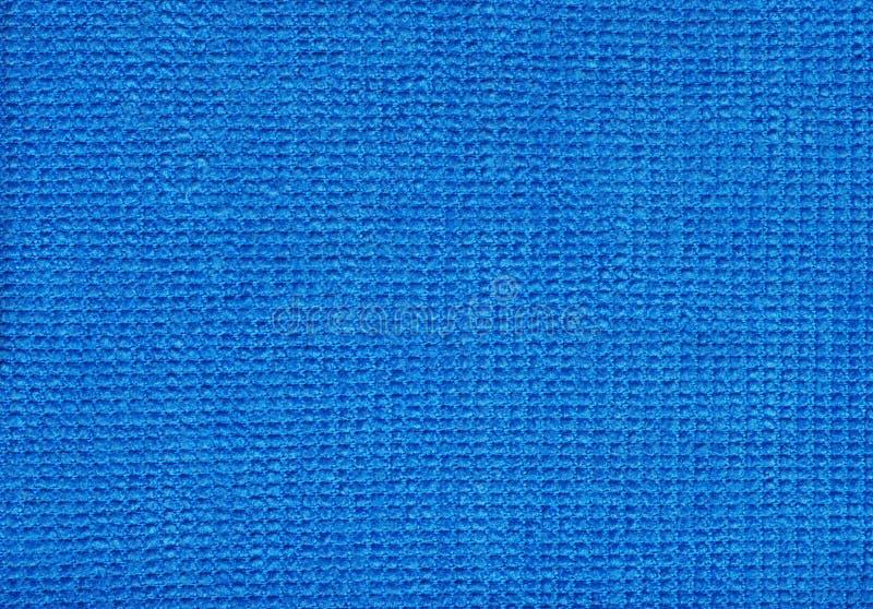 Download Blue Micro Fibre Fabric stock photo. Image of check, blue - 12873652