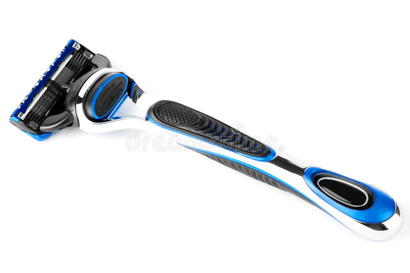Download Blue Modern Razor stock image. Image of personal, everyday - 22641145