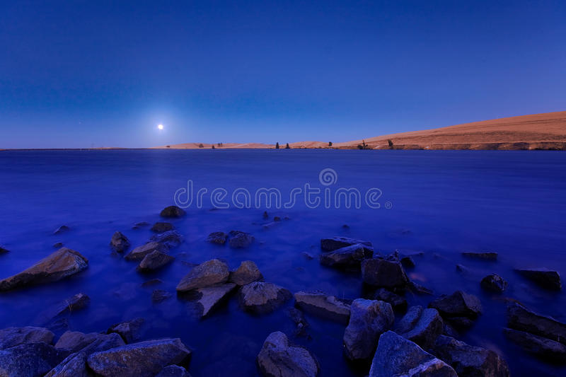 Blue Moon royalty free stock images