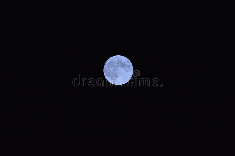 blue moon obrazy royalty free
