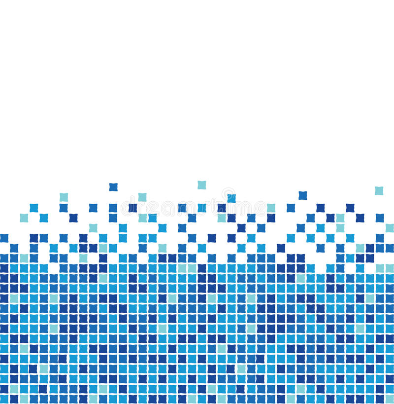 Free Blue Mosaic Royalty Free Stock Photos - 10483958