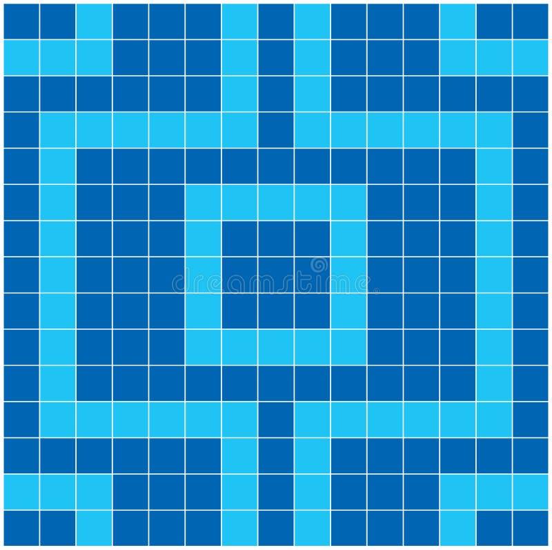 Blue Mosaic vector illustration