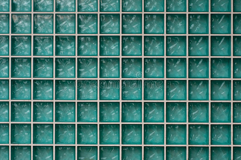 BLUE MOSAIC BACKGROUND. Colorful background mosaic design of shiny tile boxes or cubes in blue and white tones stock illustration