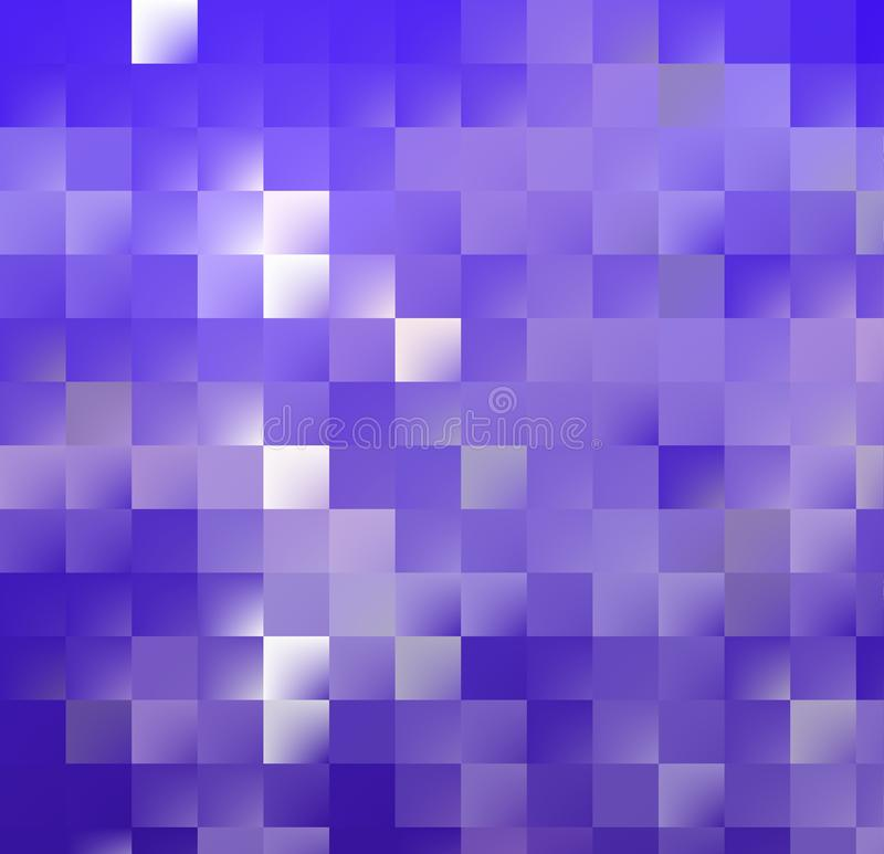 Blue Mosaic BG royalty free stock photography