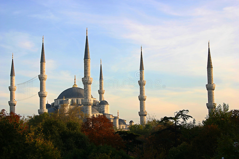 Download Blue Mosk Royalty Free Stock Photography - Image: 518727
