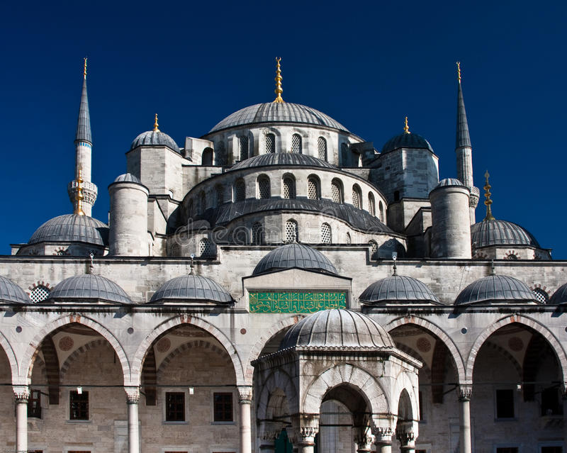 The Blue Mosque royalty free stock images
