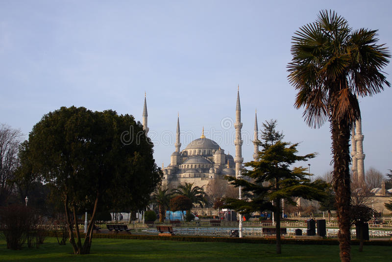 Download Blue mosque stock image. Image of islam, historic, dome - 21864177