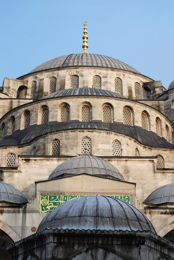 Download The blue mosque stock image. Image of temple, sultanahmet - 26634955