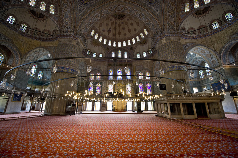 Blue Mosque stock photography