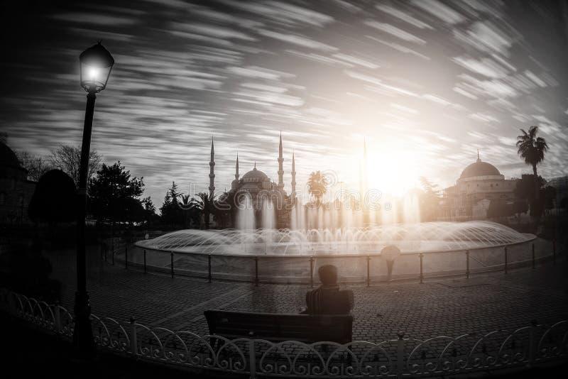 Blue Mosque and Hagia Sophia./istanbul stock photos