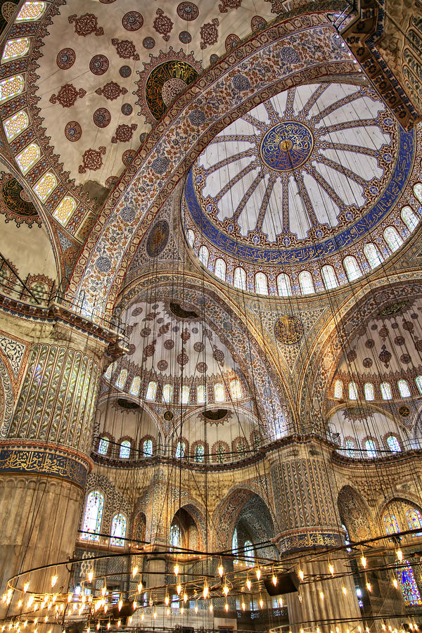 Download Blue Mosque Interior Stock Image - Image: 26702401